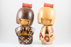 Japanese dolls Stock Image