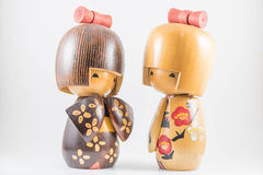 Japanese dolls Stock Images