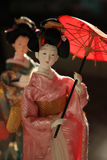 Japanese dolls Royalty Free Stock Photo