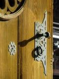 Japanese door detail Royalty Free Stock Photos