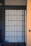 Japanese door Stock Photography