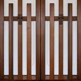 Japanese Doors Royalty Free Stock Photos