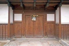 Japanese doorway 1 Stock Images