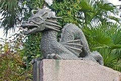 Japanese dracon Royalty Free Stock Image