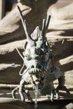 Japanese dragon fountain Stock Photo