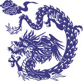 Japanese dragon Stock Image