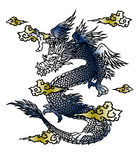 Japanese dragon Royalty Free Stock Images