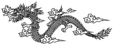 Japanese dragon Royalty Free Stock Photos
