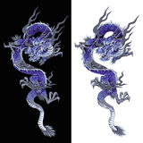 Japanese dragon Royalty Free Stock Image