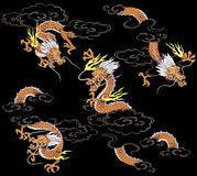 Japanese dragon Stock Photos