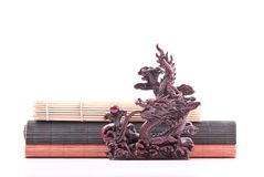 Japanese Dragon Sculpture Royalty Free Stock Photo