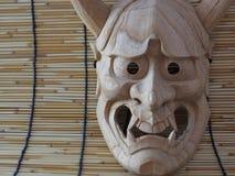 Japanese drama mask NOH Stock Images