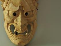 Japanese drama mask NOH Royalty Free Stock Image