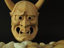 Japanese drama mask NOH Stock Photography