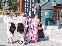 Japanese dress Royalty Free Stock Image