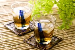 Japanese drink in summer Stock Image