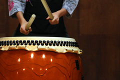 Japanese drum Stock Photography