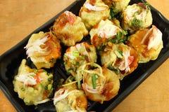 Japanese dumplings Stock Photo