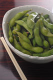 Japanese edible soy bean Stock Images