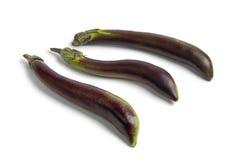 Japanese eggplants Royalty Free Stock Image