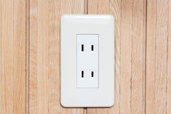 Japanese Electric Power Socket Royalty Free Stock Photos