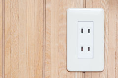 Japanese Electric Power Socket Royalty Free Stock Images