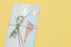 Japanese envelope for money gift Stock Photos