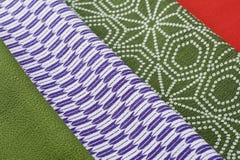 Japanese fabric Royalty Free Stock Photos