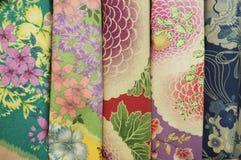 Japanese   fabrics Stock Image