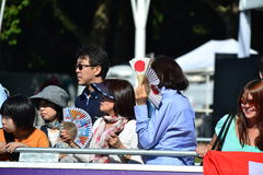 Japanese family Royalty Free Stock Image