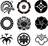 Japanese Family Crests. #5 ( illustration Stock Images