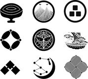 Japanese Family Crests. #19 ( illustration Royalty Free Stock Photography