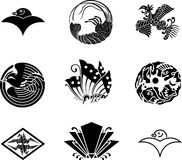 Japanese Family Crests. #17 ( illustration Stock Photography