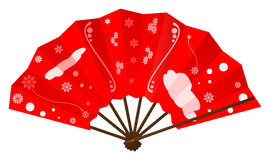 Japanese fan Royalty Free Stock Image
