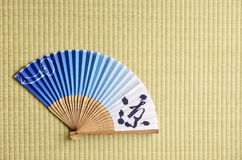 Japanese fan Stock Photography