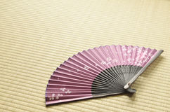 Japanese fan Royalty Free Stock Photo