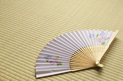 Japanese fan Stock Image