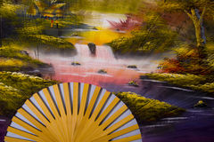 Free Japanese Fan Royalty Free Stock Photography - 7650247