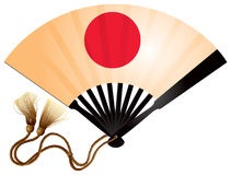 Japanese fan ogi Stock Image