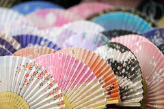 Japanese fans royalty free stock images