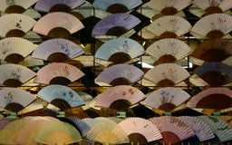 Japanese fans Royalty Free Stock Image