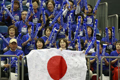 Japanese Fans Stock Images