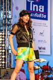 Japanese Fashion Show from JAPAN in Japan Festa in Bangkok 2013. Royalty Free Stock Photos