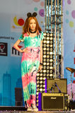 Japanese Fashion Show from JAPAN in Japan Festa in Bangkok 2013. Stock Photo