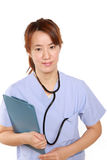 Japanese Femal Doctor Royalty Free Stock Photo