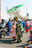 Japanese Festival Stock Photo