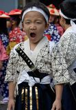 Japanese Festival Dancer Royalty Free Stock Image