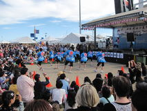 Japanese festival in Docklands, Melbourne, Australia Royalty Free Stock Photos