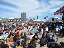 Japanese festival in Docklands, Melbourne, Australia Royalty Free Stock Image
