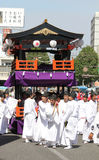 Japanese festival in Kagoshima Royalty Free Stock Images